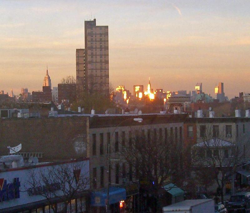 Sunrise in Brooklyn