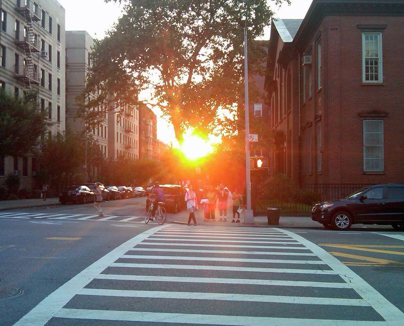 Setting Sun Aug 22 2012