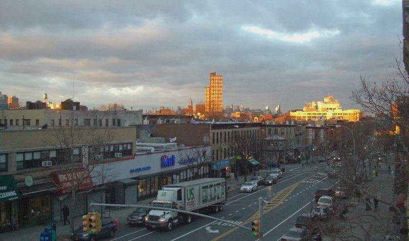 Christmas Sunset Brooklyn