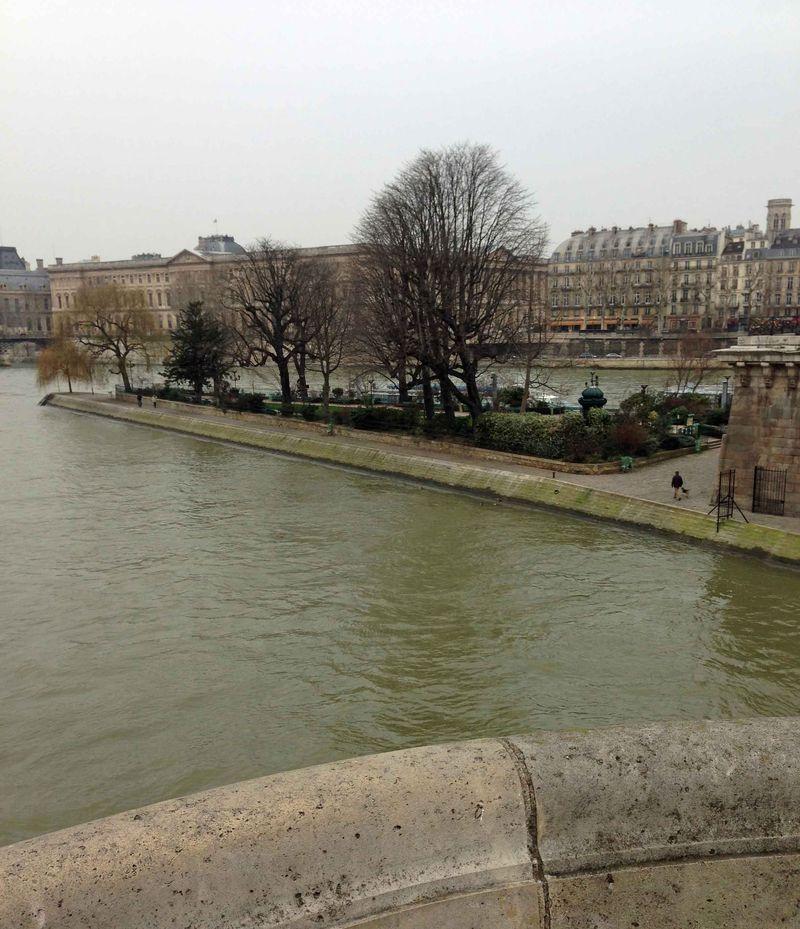 Gray Day on Pont Neuf Paris