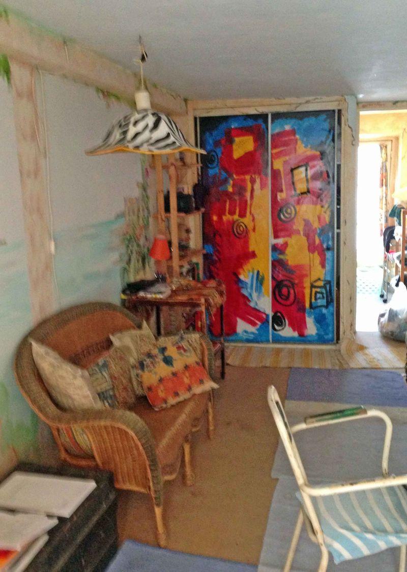 Paris Apt Living Room 2013