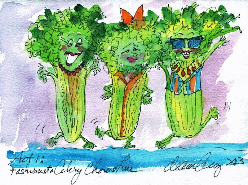 Fashionista Celery