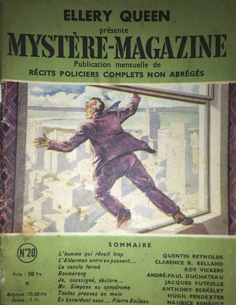 Ellery Queen Mystery Magazine French