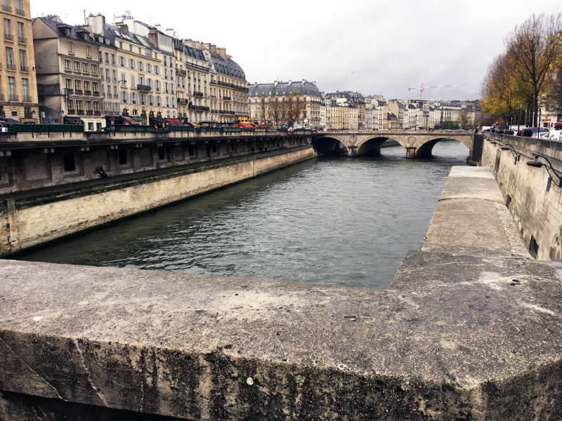Seine Paris Nov 20 2016